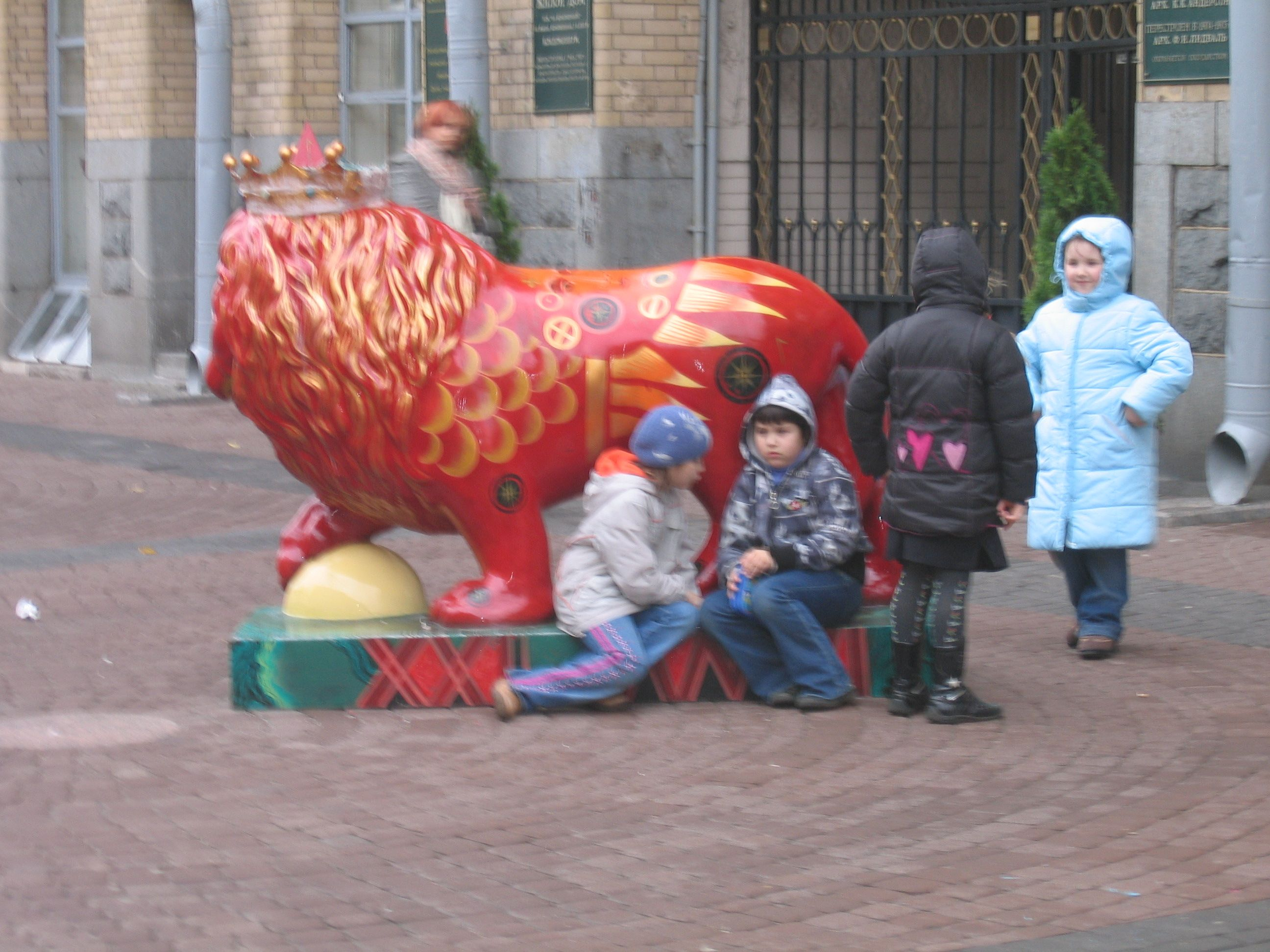 Children in St Petersburg