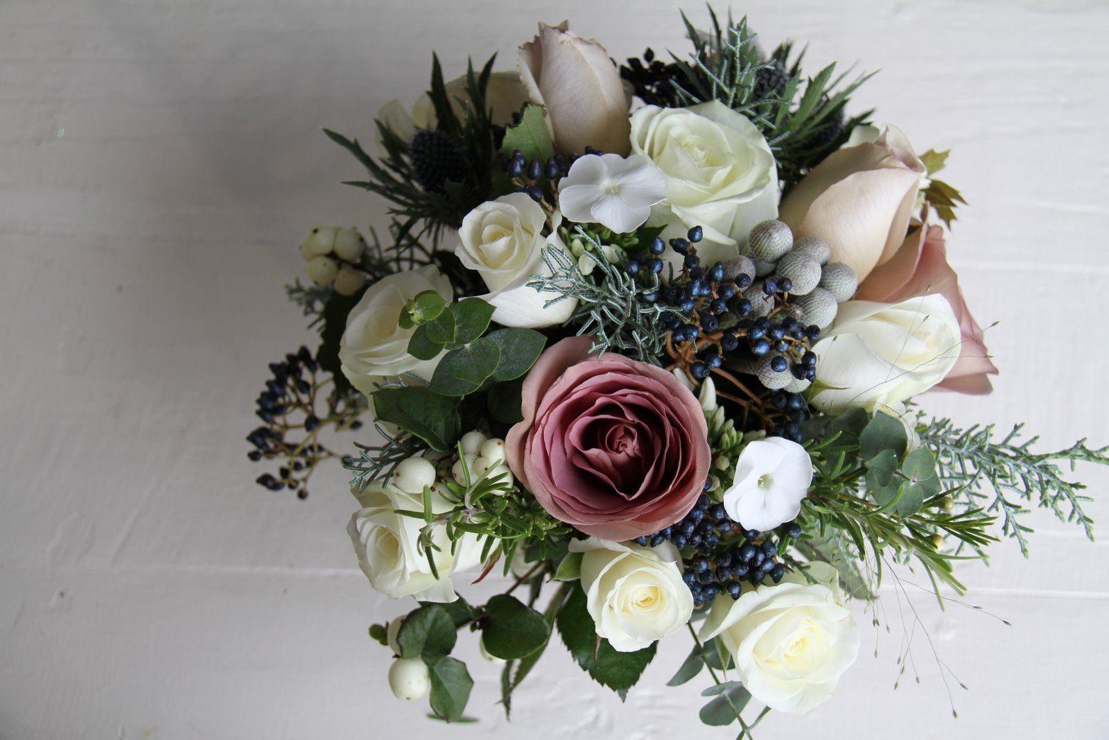 winter flower bouquets | The Flower Magician | wedding ideas ...