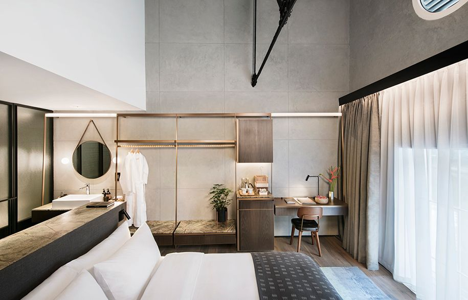 Slaapkamer Hotel Stijl : Lo and behold the warehouse hotel restoration is complete interior