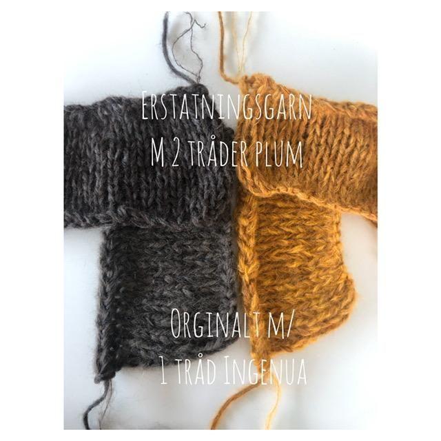 Photo of Yarn Heaven – Høstgenseren min er et enkelt strikkeoppskrift som også kan strikke …