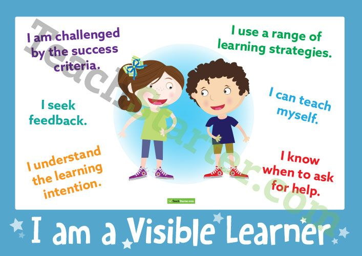 Visible Learning Posters Teaching Resource Teach Starter Visible Learning Learning Poster Learning Goals