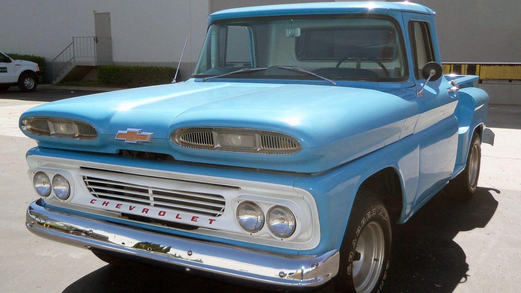 1960 Chevrolet Apache Pickup Presented As Lot F90 1 At Seattle Wa Chevrolet Apache Vintage Chevy Trucks Chevrolet