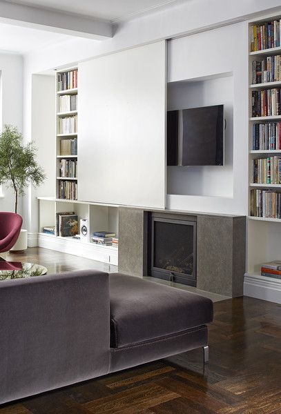 Empty Nest By James Wagman Architect Living Room Tv Home Interior