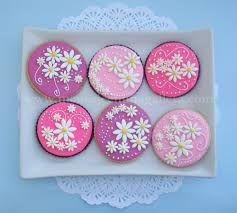Resultado de imagen para galletas en forma de flor