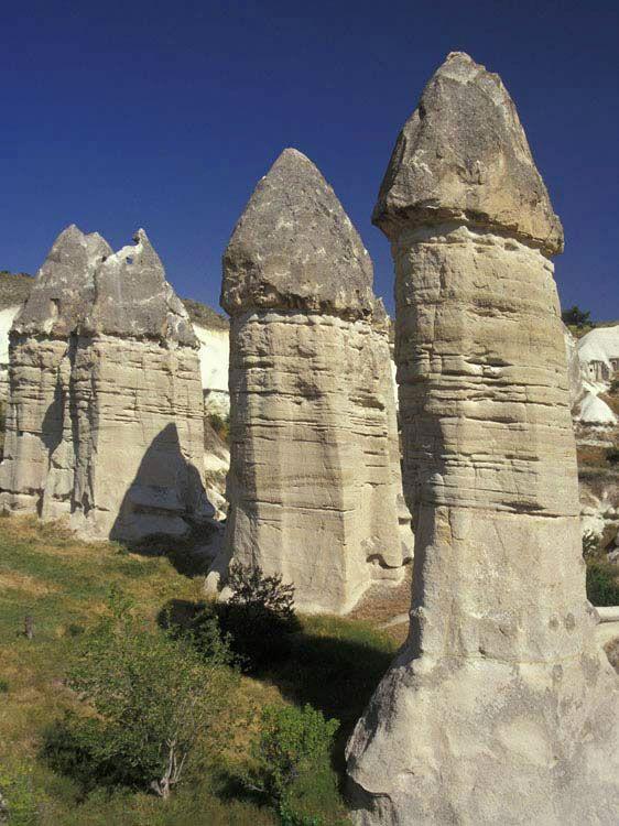 Fairy Chimneys Cappadocia Turkey I M So Sure They Got This Idea
