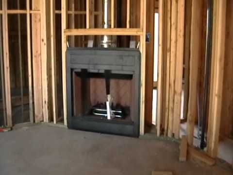 Building Process 29 Fireplace Installation In 2019