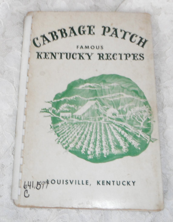 Cabbage Patch Famous Kentucky Recipes by Starrylitvintage on Etsy