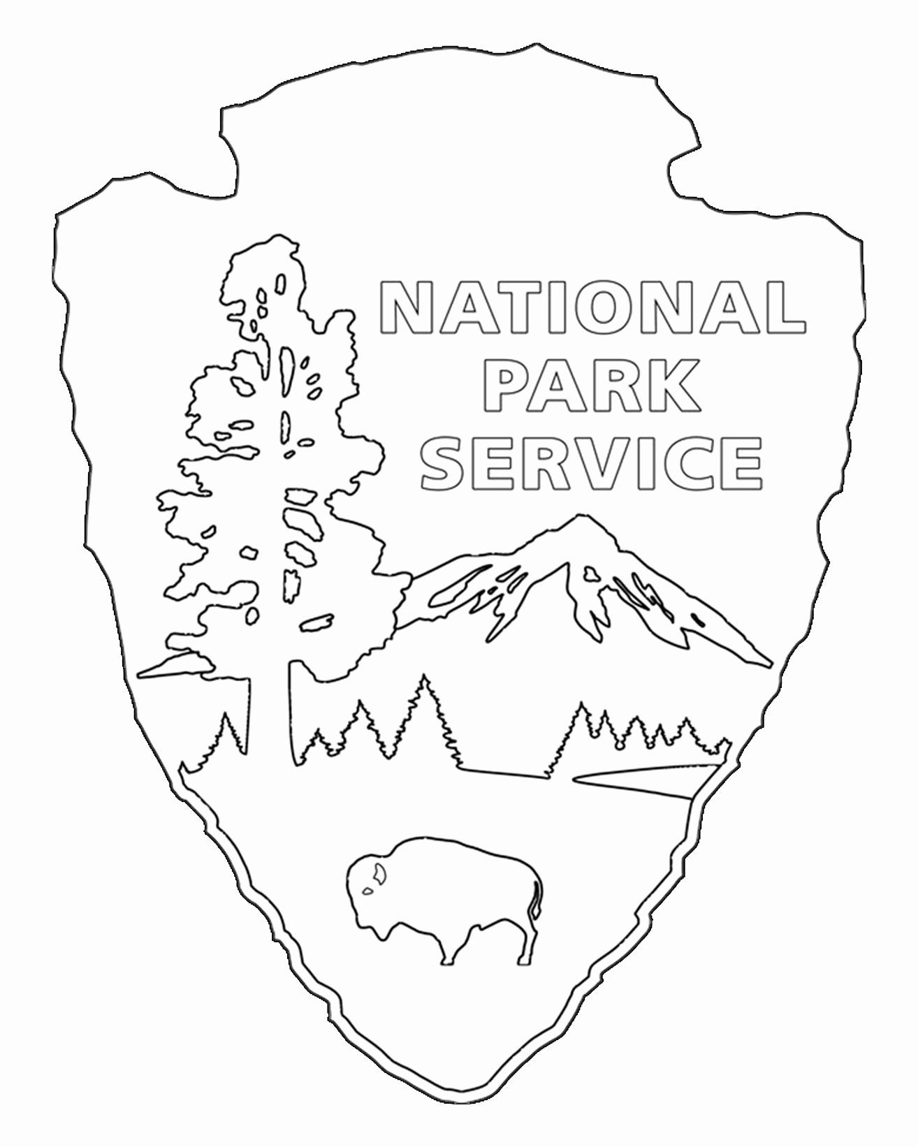 27 National Parks Coloring Book In With Images