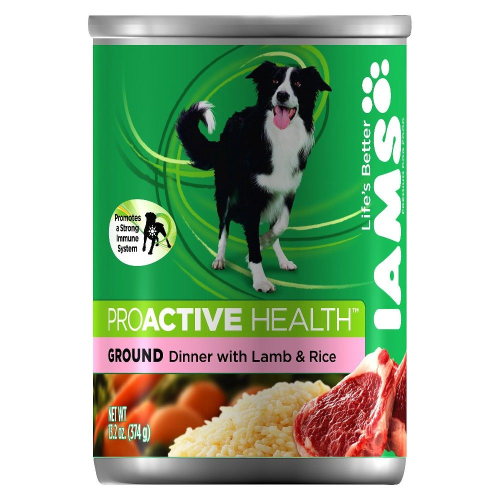 Iams Proactive Health Adult Ground Dinner With Lamb And Rice Wet