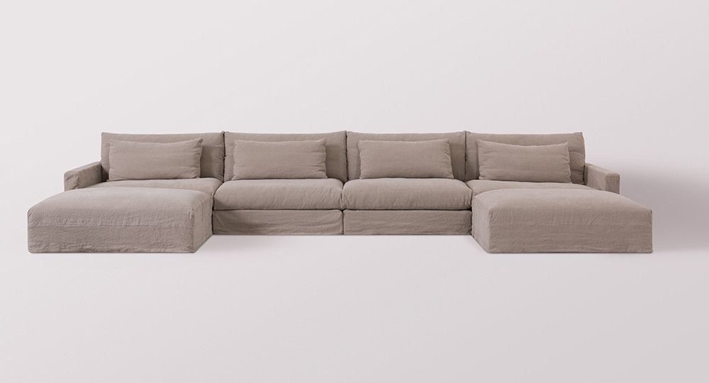 Devyn Modular U Chaise Sectional Sectional Furniture Contemporary Sofa