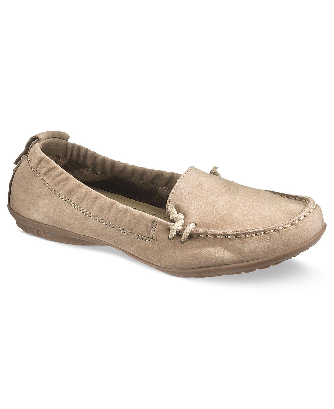 Hush Puppies Women's Shoes, Ceil Moc Flats - Hush Puppies ...
