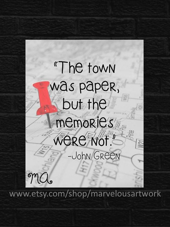 paper towns for sale