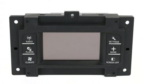 11-14 Dodge Charger 4.3 Radio Information Display Screen w Controls 05064630AG #displayscreen