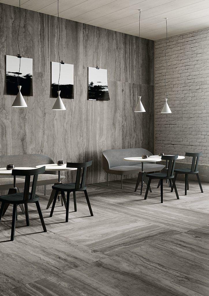 Pavimenti cucine ristoranti cheap interni di spazi for Piastrelle cucina ristorante