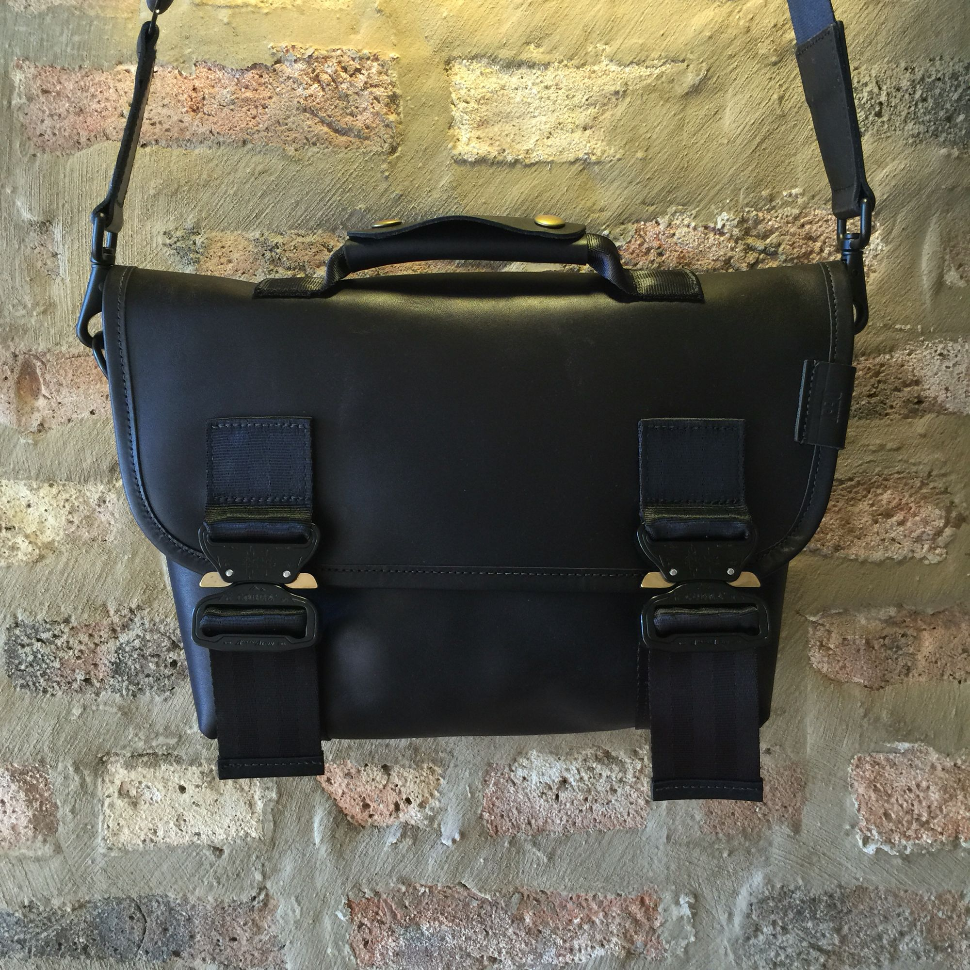 eb30b89f11 Hand-Crafted Horween Austin Calf Leather mini Recon. | Defy Bags ...