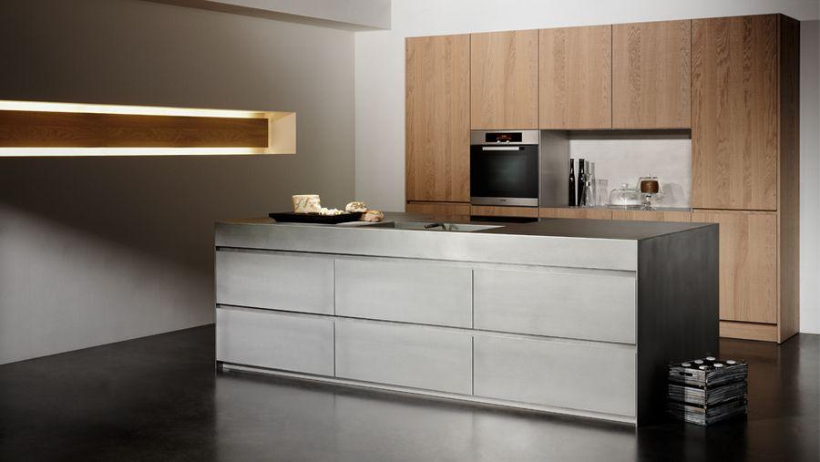 designer kuche kalea cesar arredamenti harmonischen farbtonen, silver touch | zalves | pinterest | neue küche, küchenarbeitsplatte, Design ideen