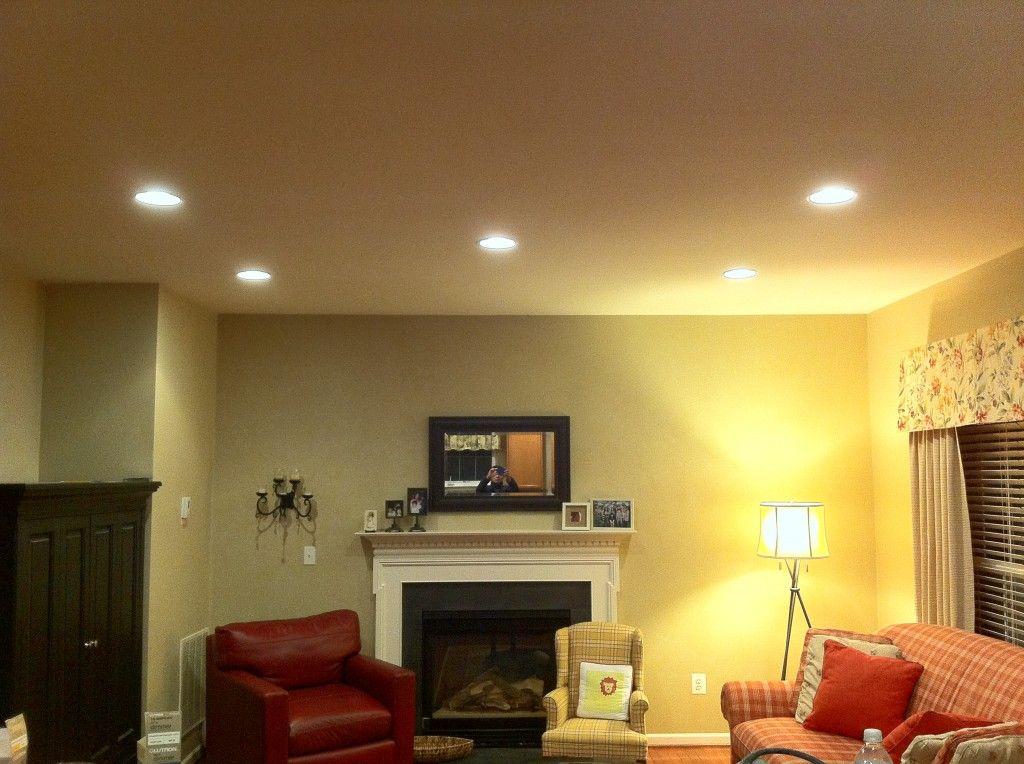 18++ Living room recessed lighting size information