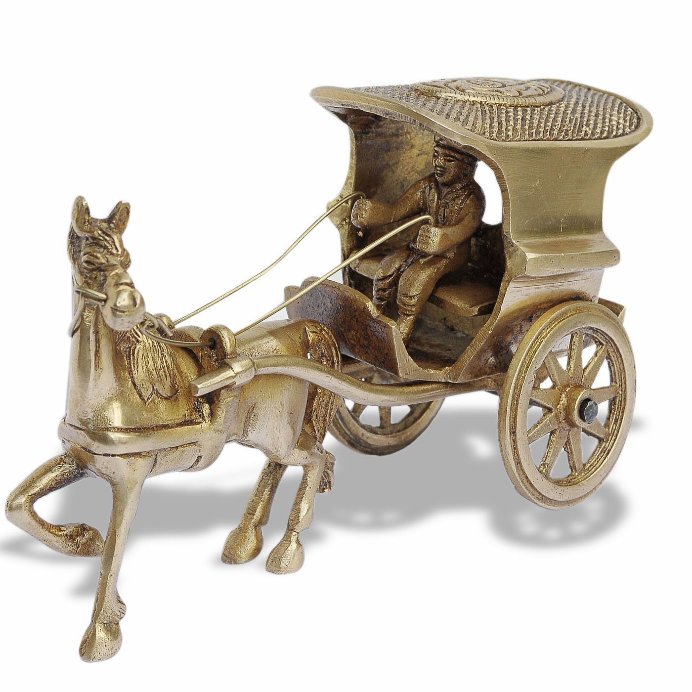 Household Decorative Items Part - 35: India Online DakshCraft Home Decor Items: Decorative Brass Statues