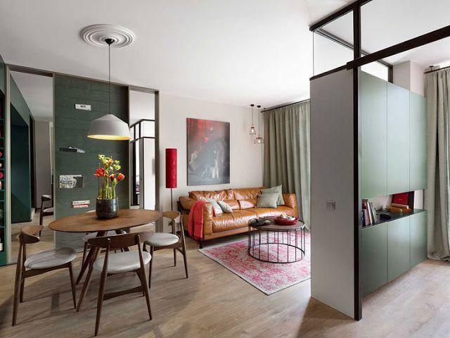 Kleine Wohnung in kräftigen Farben in 2020 ...