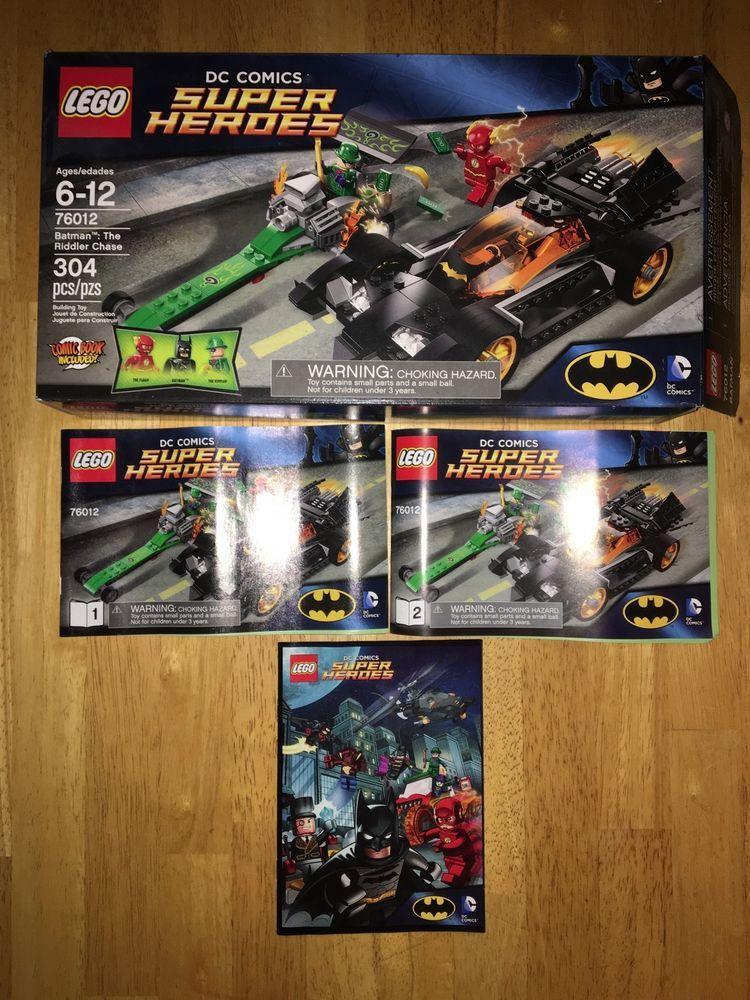 Lego 76012 DC Comics Super Heroes Batman Box w Manuals