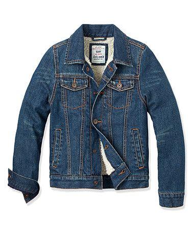 8312da0aa40f Look what I found on  zulily! Ginza Wash Knox Denim Jacket - Boys by ...