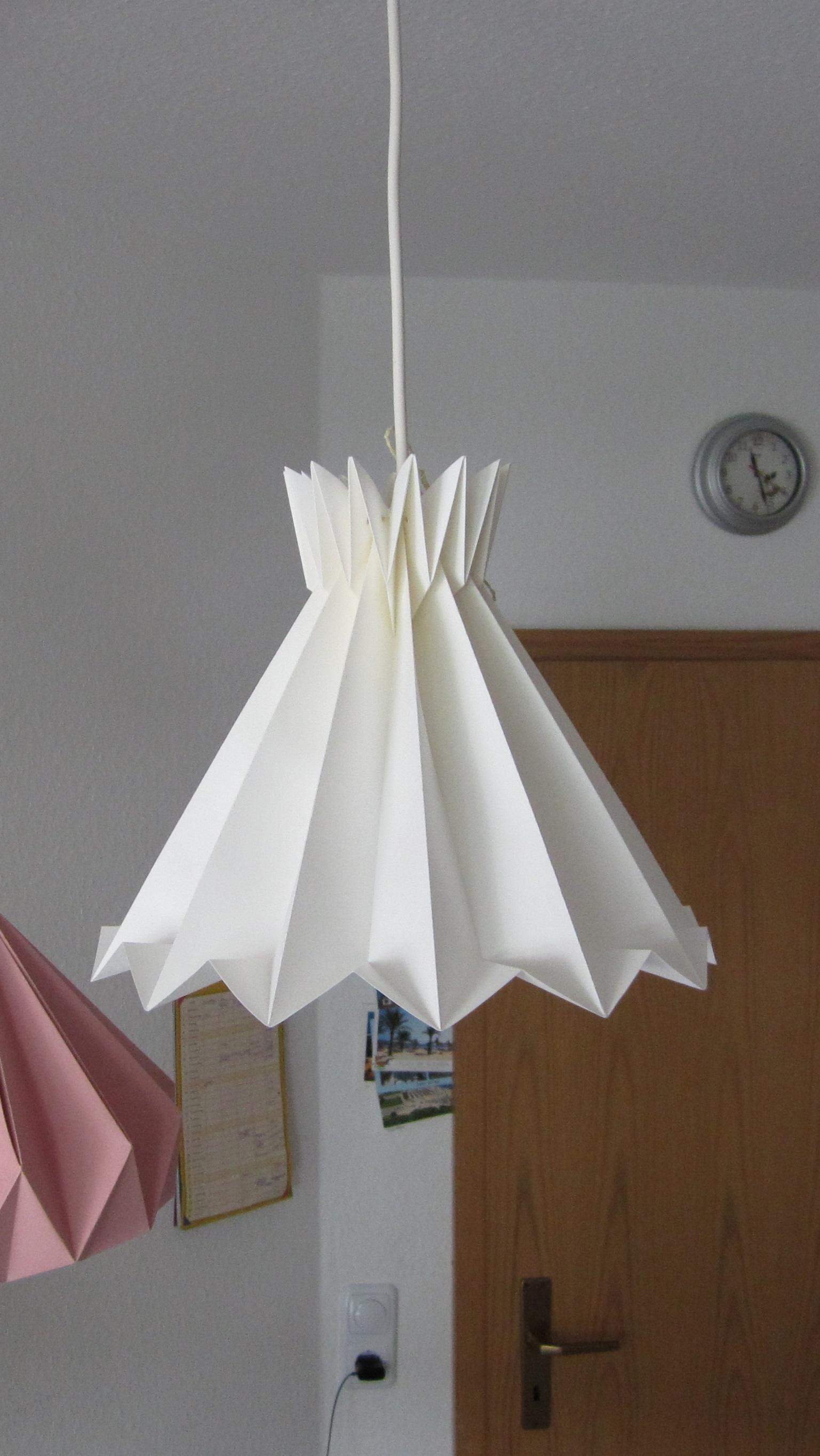 Origami Lamp Paper Lamp Shade Folded Lamp Origami Lampshade
