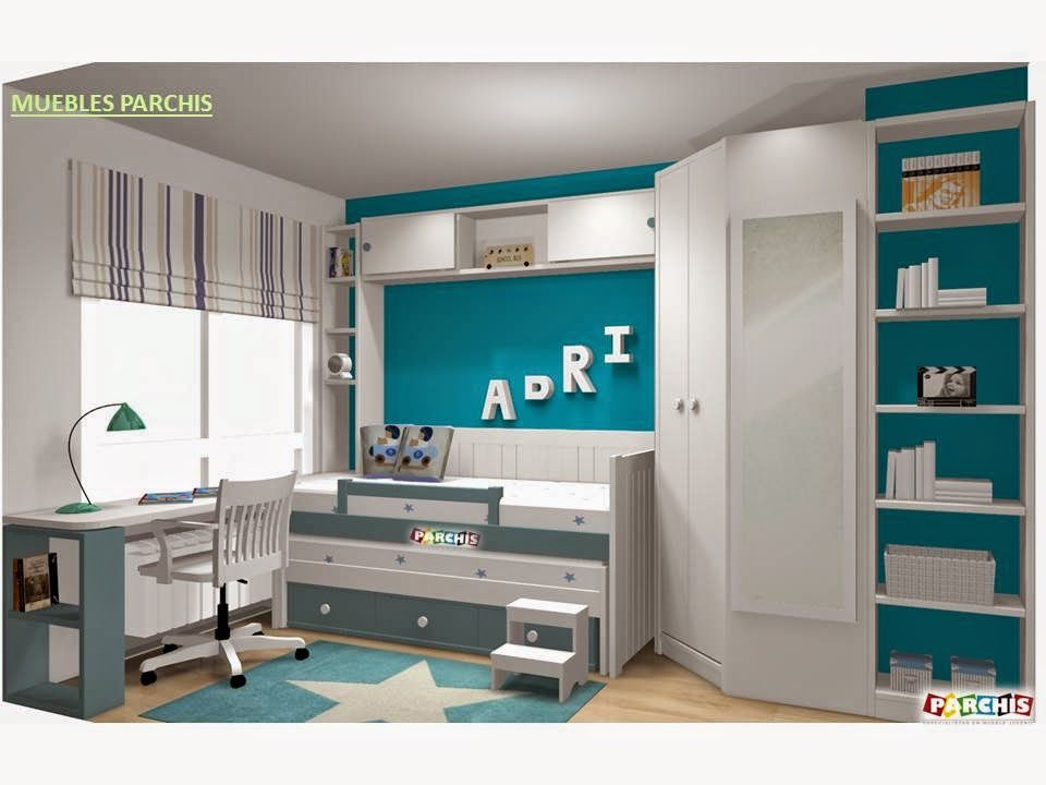 Muebles juveniles dormitorios infantiles y habitaciones for Muebles juveniles a medida