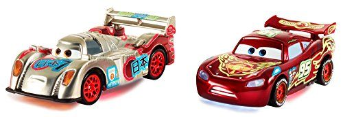 2014 SDCC EXCLUSIVE Disney Pixar Cars Special Edition NEON RACERS Gift Pack