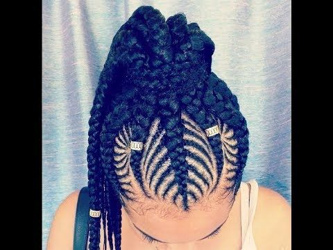Image result for 2018 african weaving hairstyles for ladies