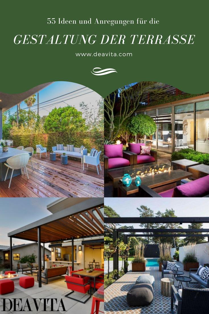 Die Terrasse sollte wirklich als eine harmonische Erweiterung von ...