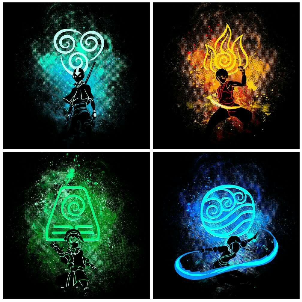The Last Airbender Team Avatar: Pin By MS Awesome On Cartoon/ Anime!!!!
