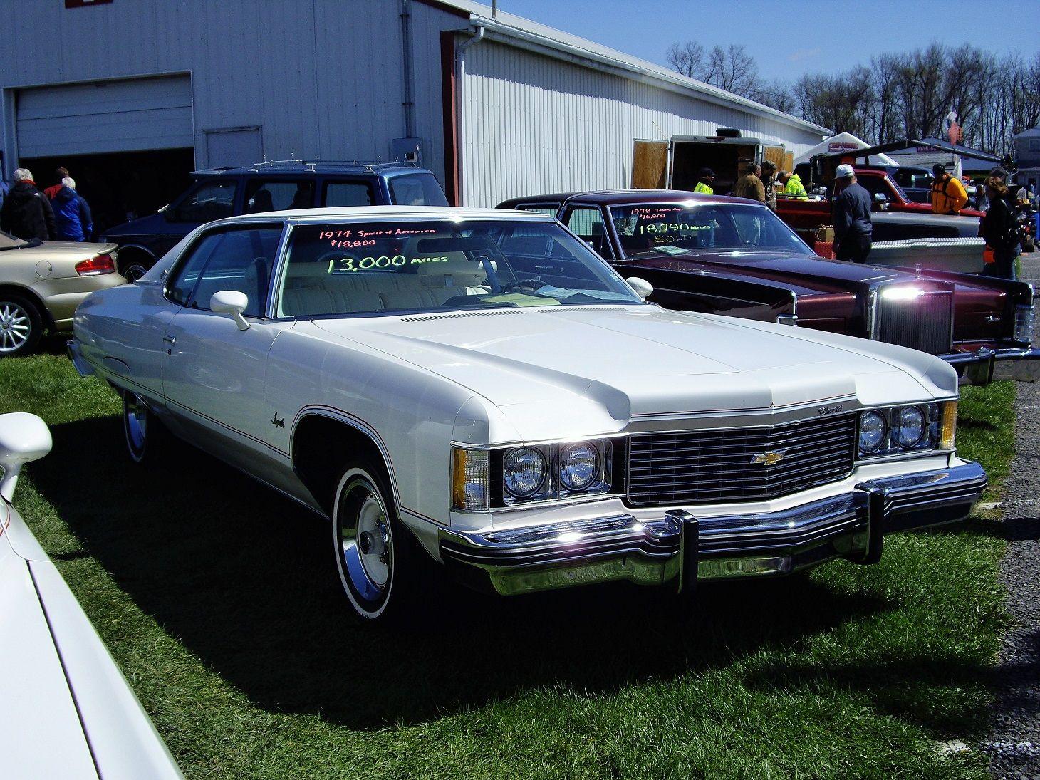 hight resolution of 1974 spirit of america chevrolet impala sport coupe