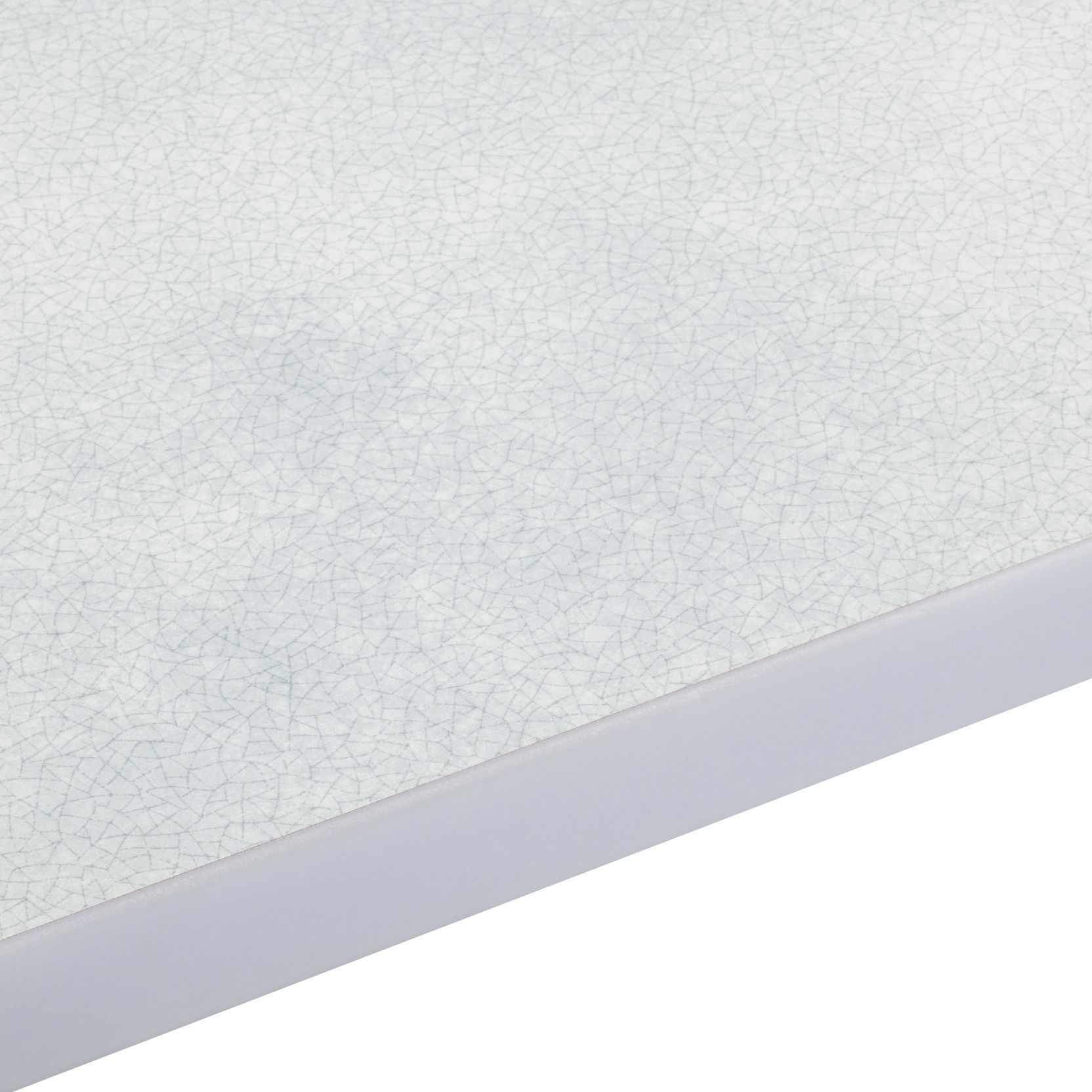 28mm Cracked Glass Laminate Grey Gloss Square Edge Worktop (L)3000mm ...