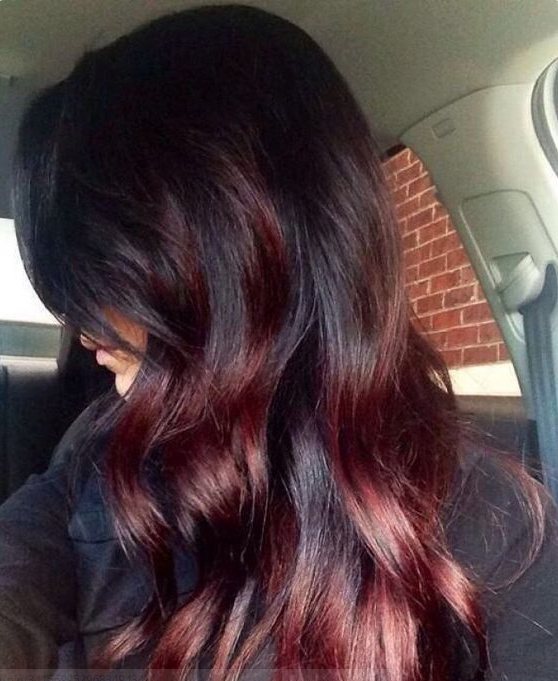 Extrem Coloration ombré hair rouge | Cheveux | Pinterest | Coiffures  QT91