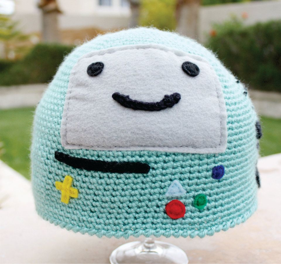 BMO Beemo Video Game System Inspired Hat: Adventure Time -ish ...