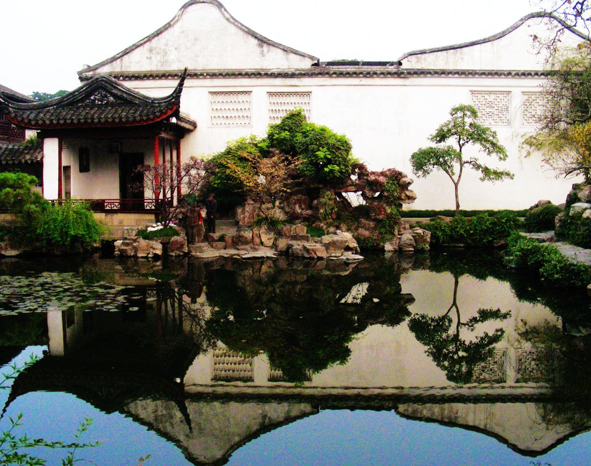 Garden of the Net Master in Suzhou Chinese classical