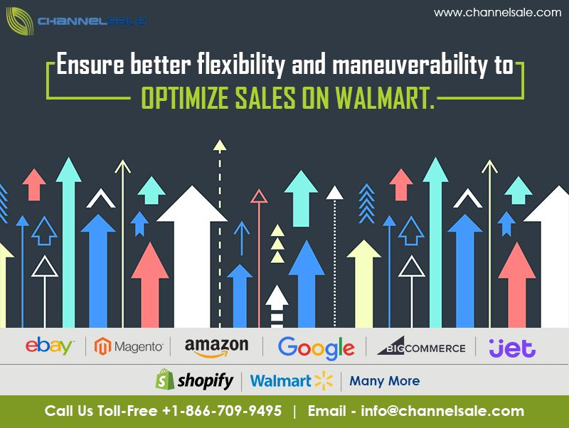 ChannelSale has always been up-to-date with Walmart Marketplace API
