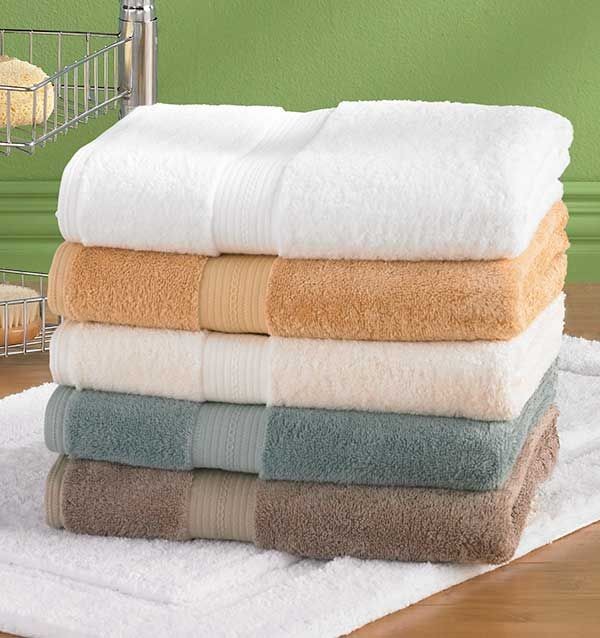 Bamboo Cotton And Silk Towels From Tuesday Morning