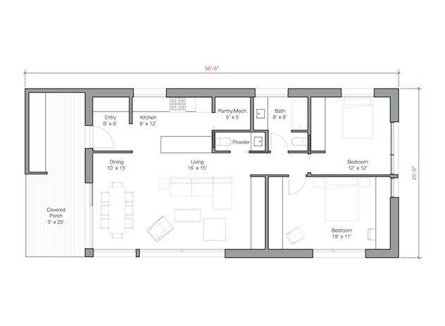 Go Logic 1200 Sf Prefab Home House Plans House Floor Plans Prefab Homes