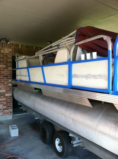 Pontoon Redo Lake House Pinterest Boating Pontoon