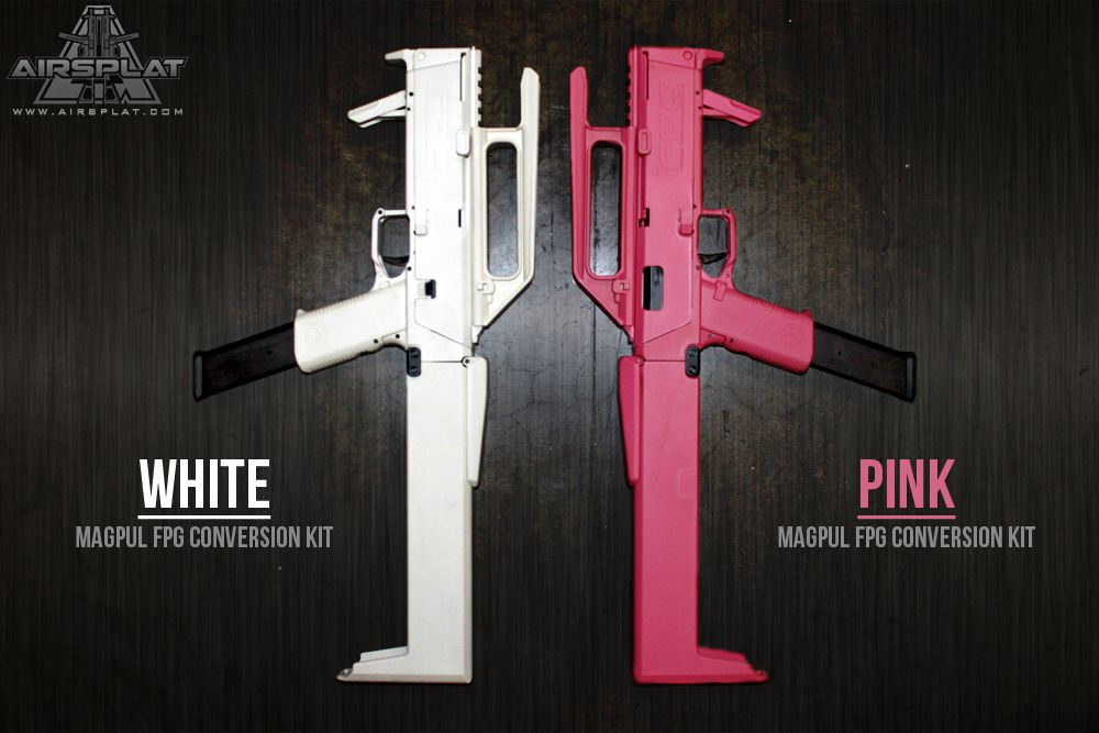 magpul fpg complete airsoft gun kits at airsplat white http www
