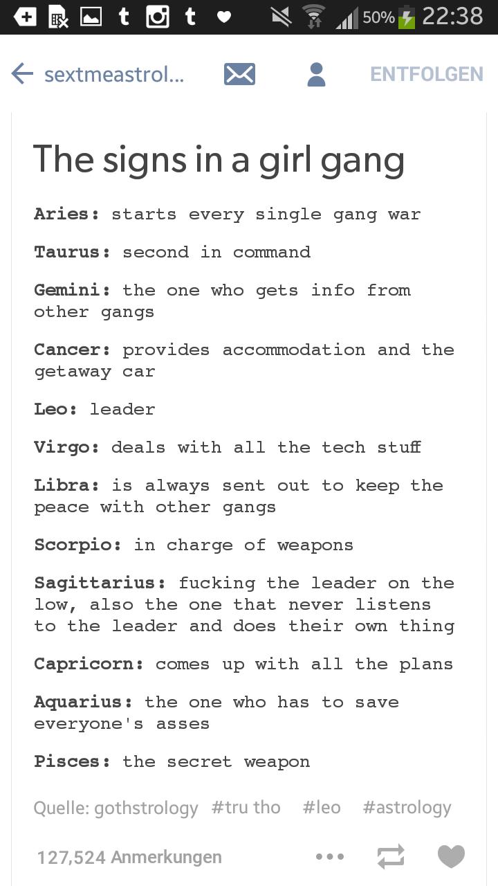 Girl gang astrology girl gangs pinterest zodiac pisces and girl gang astrology biocorpaavc
