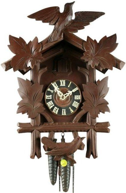 Cuckoo Cuckoo Clock Vintage Clock Cuckoo Clock