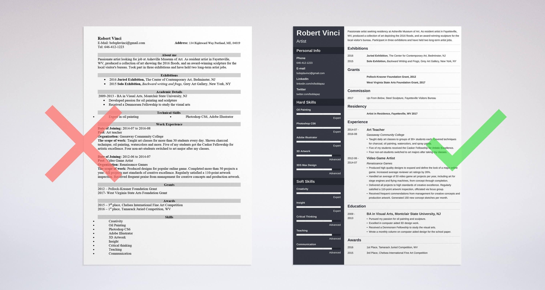 artist resume sample   резюме   Pinterest