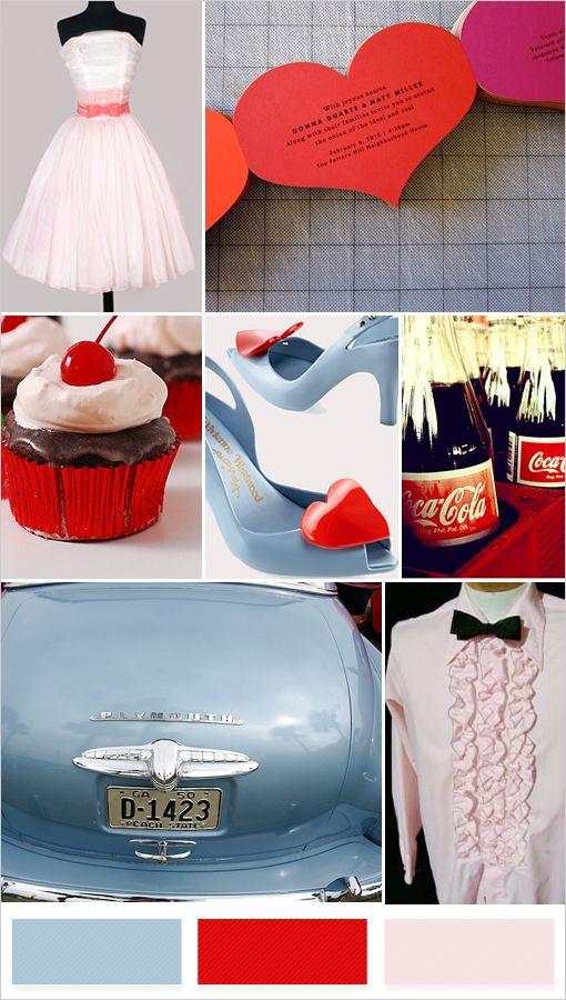 1950s wedding ideas yes 1950s Pinterest 1950s