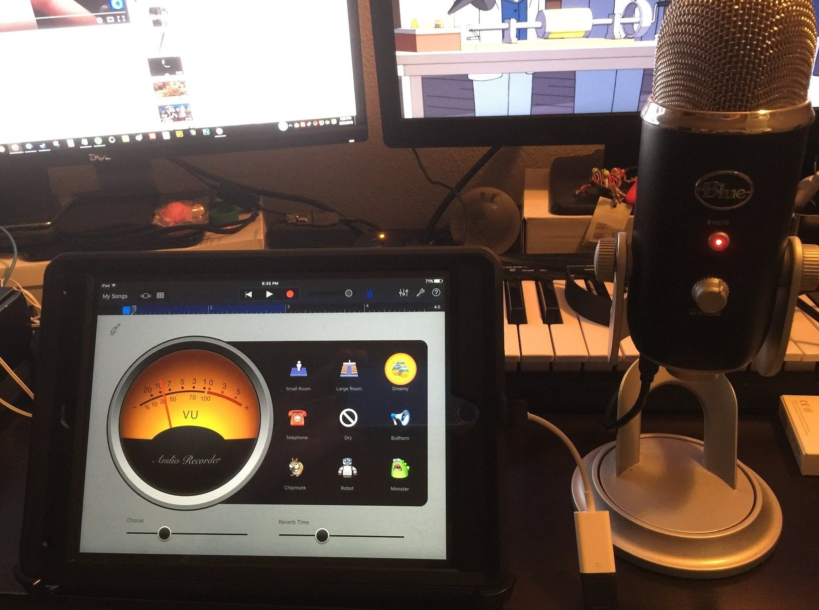 How to connect your blue yeti microphone to an ipad air 2