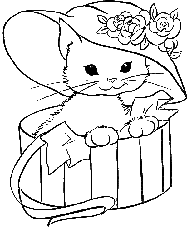 Baby Cat Cute And Sweet Coloring For Kids Animal Coloring Pages Kidsdrawing Free Coloring Pages Puppy Coloring Pages Kitty Coloring Animal Coloring Pages