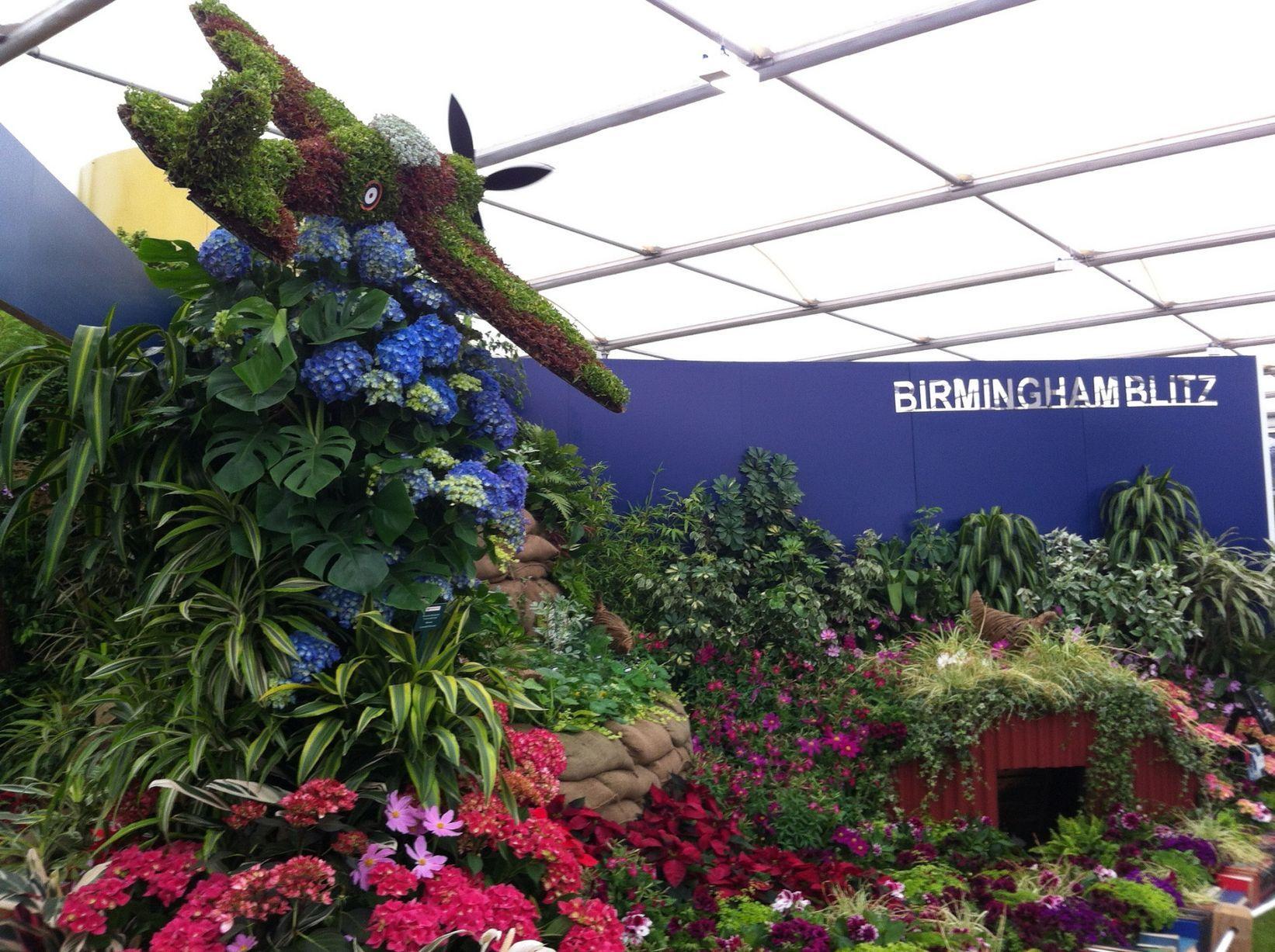 Image result for birmingham airforce flower display