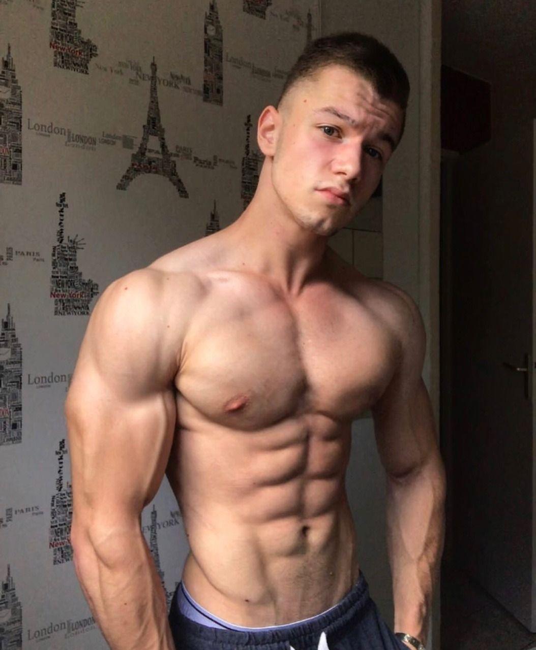 Boyz with plenty of muscle