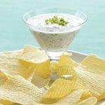 Garlic and Herb Yogurt Dip Recipe   MyRecipes.com